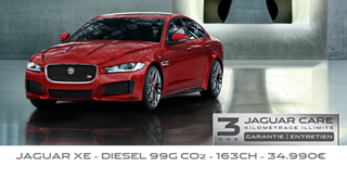 Inscription essai Jaguar XE