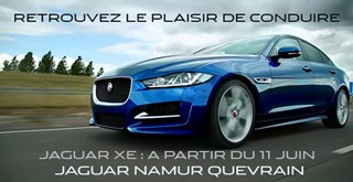 Lancement officiel Jaguar XE