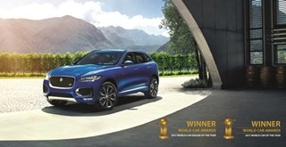 F-PACE World Car of the Year 2017