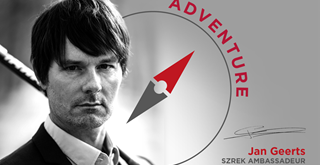 'Szrek Ambassadeur' JAN GEERTS is de perfecte belichaming van ADVENTURE.