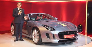 "La F-Type remporte ""Le Volant d'Or"""
