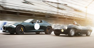 Jaguar Project 7 à Goodwood