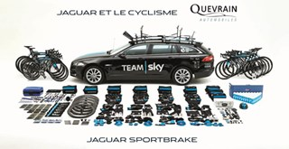 Team Sky sur le Tour de France
