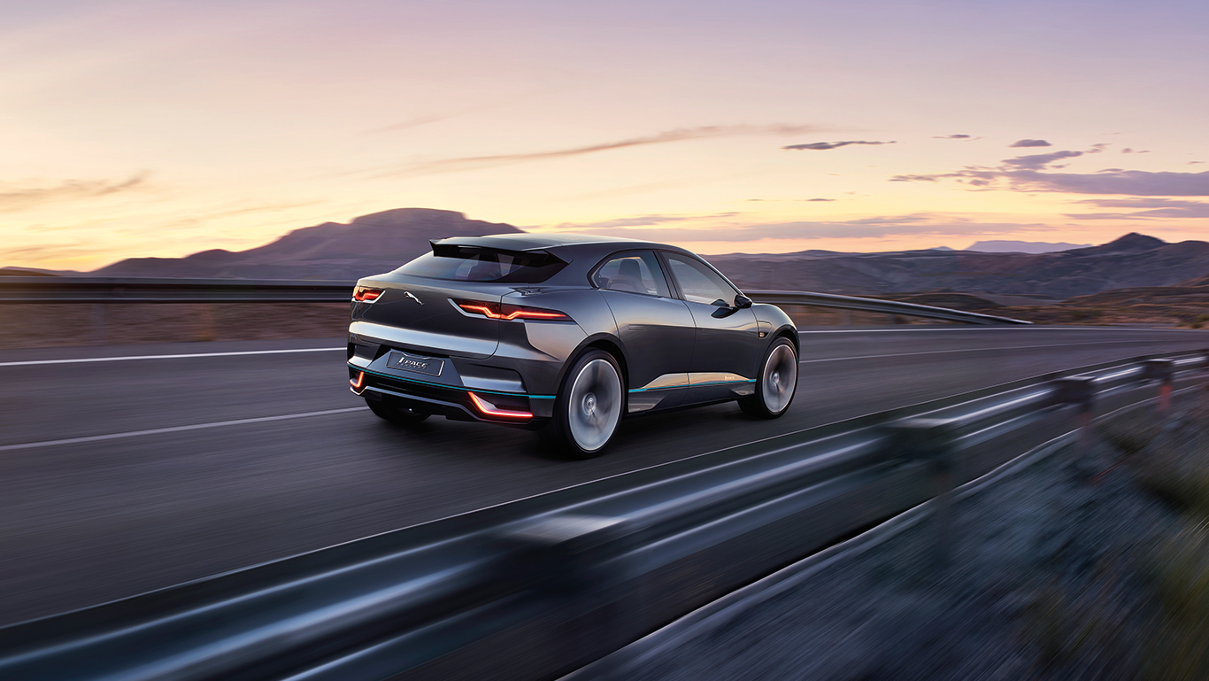 I PACE On The Road - Concept I-PACE