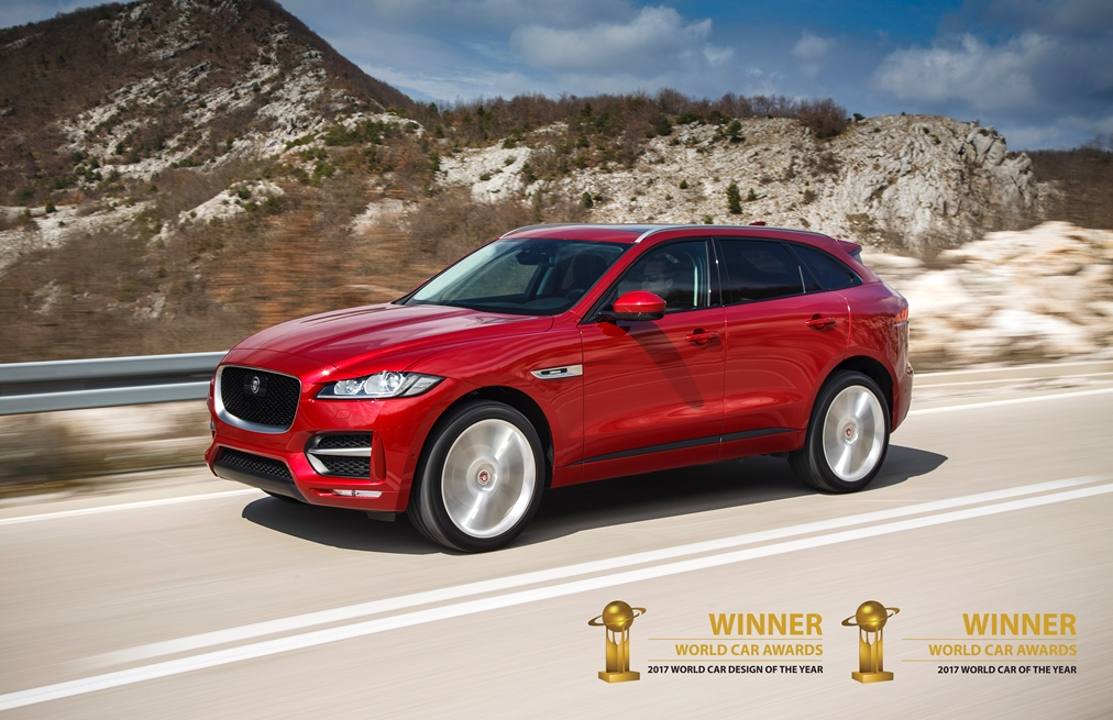 F Pace 2 Awards- SPECIAAL VOOR U SAMENGESTELD, DE F-PACE BUSINESS EDITION