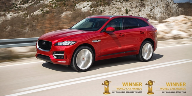 F PACE WCOTY - SPECIALE CONDITIES