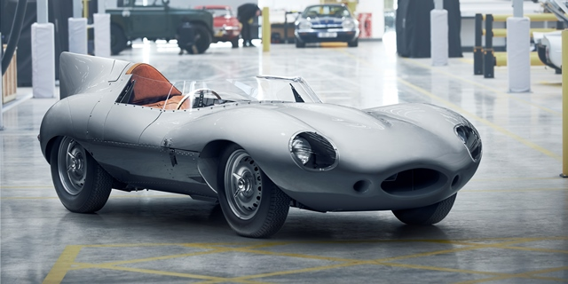 Jaguar Classic D TYPE 640X320  - Relance de la production D-TYPE