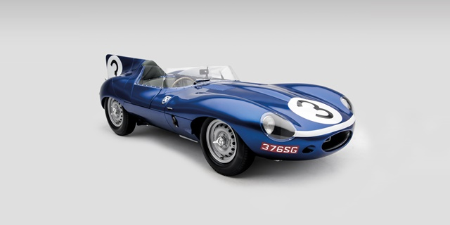 Jaguar Classic D TYPE Blue 640X320  - Relance de la production D-TYPE