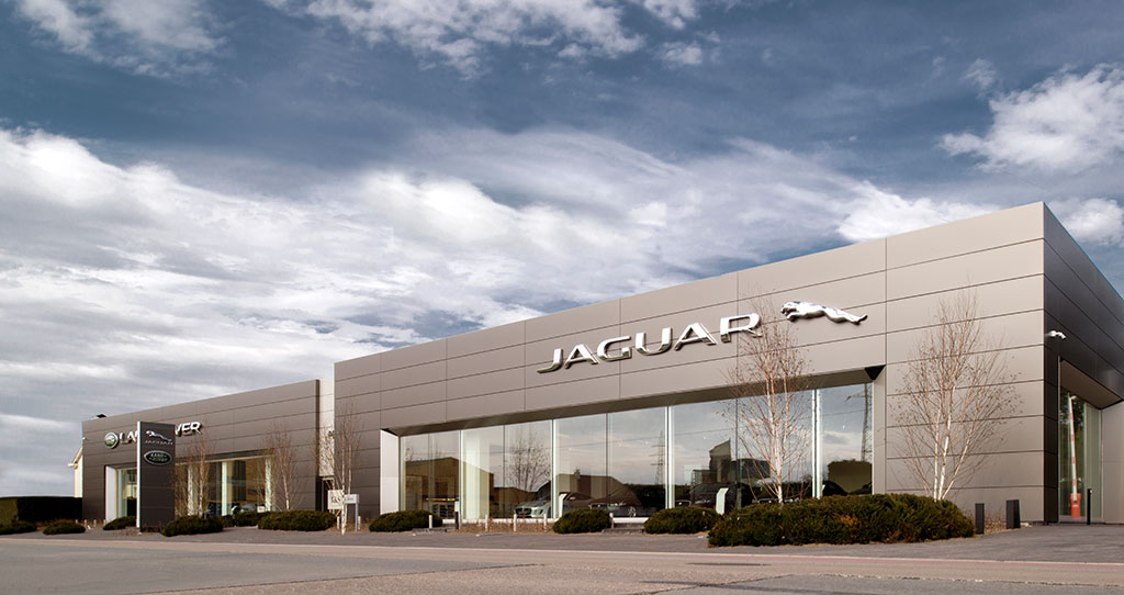 Showroom- Bedrijfsfilm Jaguar Herentals