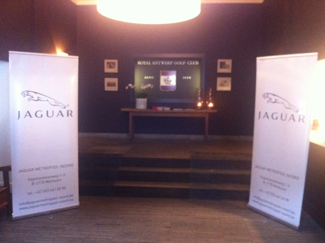 Jaguar Metropool, sponser van de golf & terroir op de Royal Golf Club Antwerpen